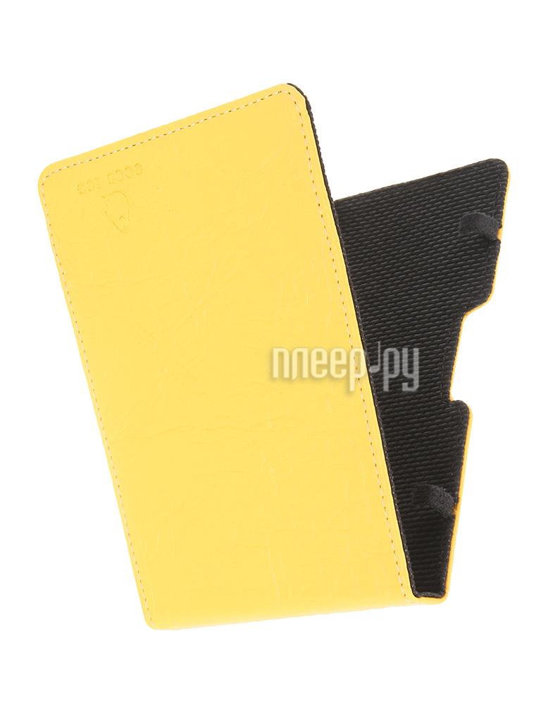 Аксессуар Чехол for PocketBook 630 Good Egg Lira Yellow GE-PB630LIR2224 кожа