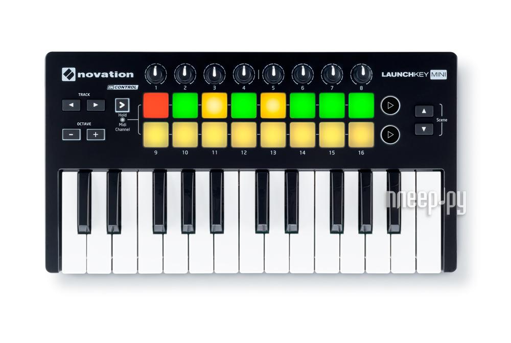 MIDI-клавиатура Novation LaunchKey Mini MK2