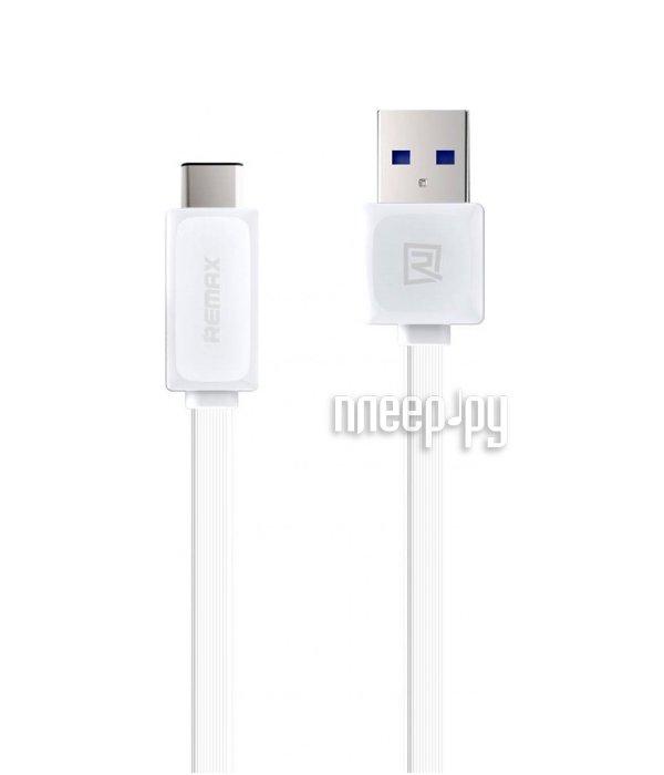 Аксессуар Remax USB to TYPE-C 1m White