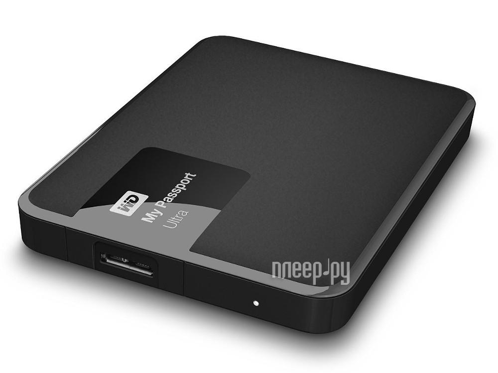 Жесткий диск Western Digital My Passport Ultra 500Gb WDBBRL5000ABK-EEUE Black