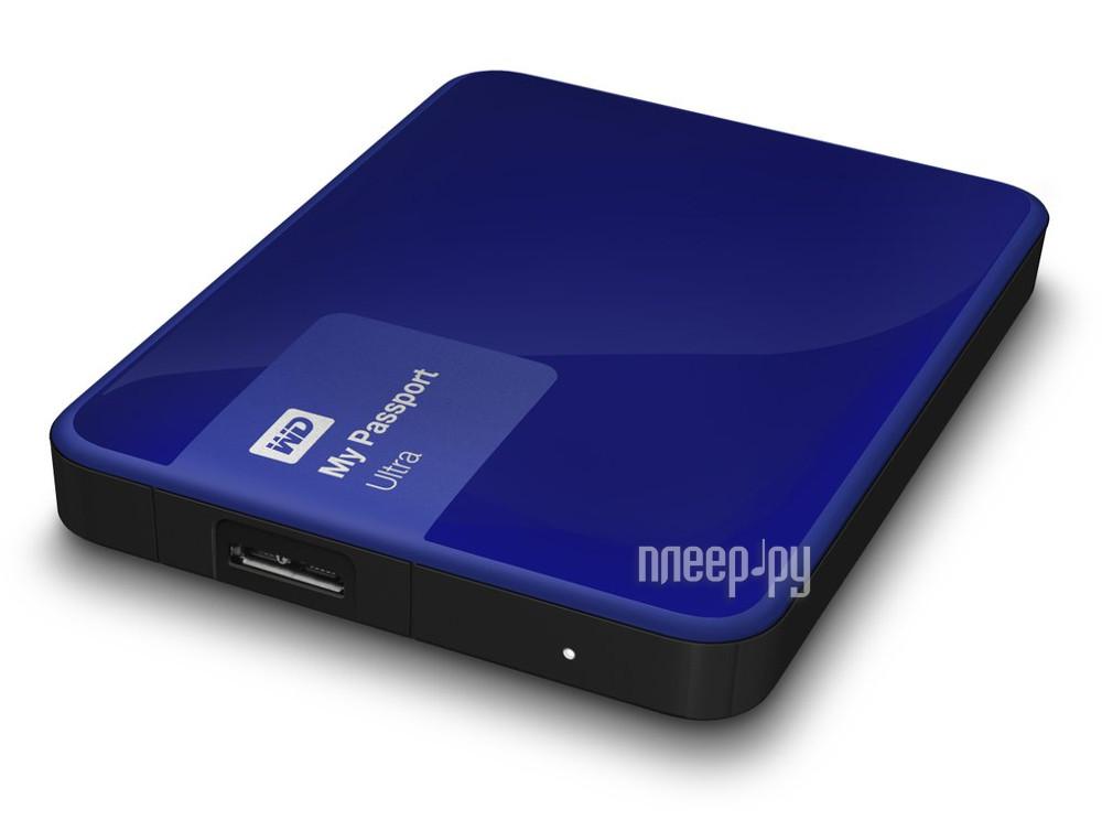 Жесткий диск Western Digital My Passport Ultra 500Gb WDBBRL5000ABL-EEUE Blue