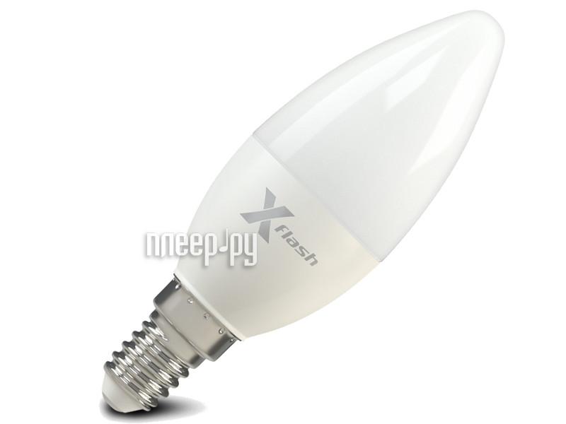 Лампочка X-flash XF-E14-CM-5.5W-3000K-220V 46997
