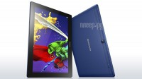 ������� Lenovo TAB 2 A10-30 / TB2-X30L Blue ZA0D0048RU (Qualcomm MSM8909 1.3 GHz/1024Mb/16Gb/Wi-Fi/3G/LTE/Bluetooth/Cam/10.1/1280x800/Android)