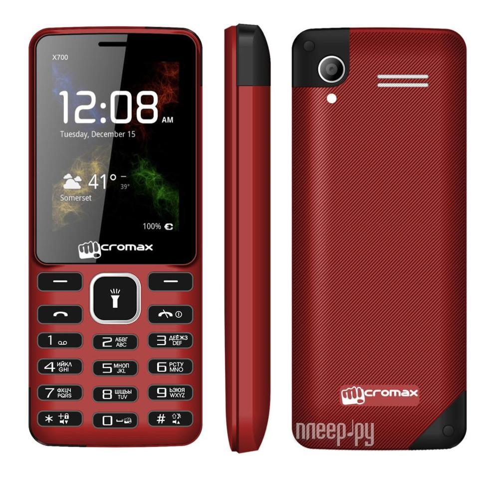 Сотовый телефон Micromax X700 Red