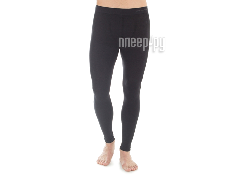Кальсоны Brubeck Comfort Wool S Black LE11220 / LE11220 мужские