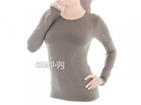Рубашка Brubeck Comfort Wool XL Grey LS12150 женская