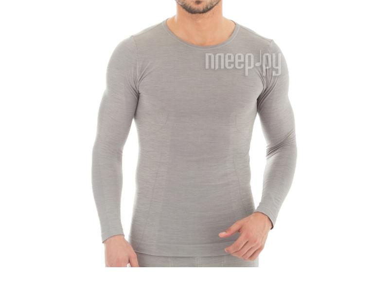 Рубашка Brubeck Comfort Wool M Grey LS12160 мужская