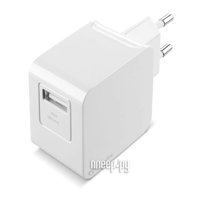 Зарядное устройство Cellular Line White