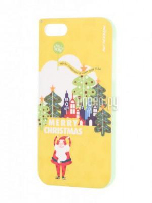 Купить Аксессуар Чехол-накладка SkinBox для iPhone 5 / 5S SE Yellow T-N-Iphone5S-002