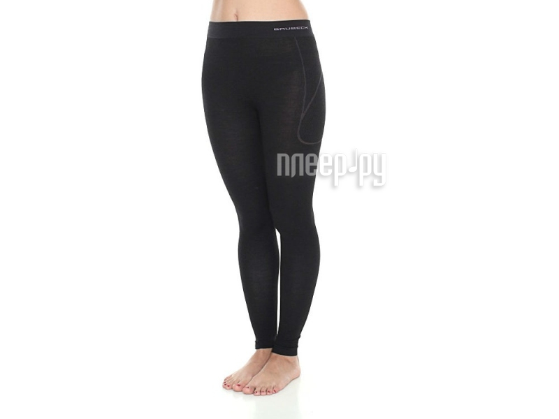 Кальсоны Brubeck Active Wool XL Black LE11700 / LE11830 женские