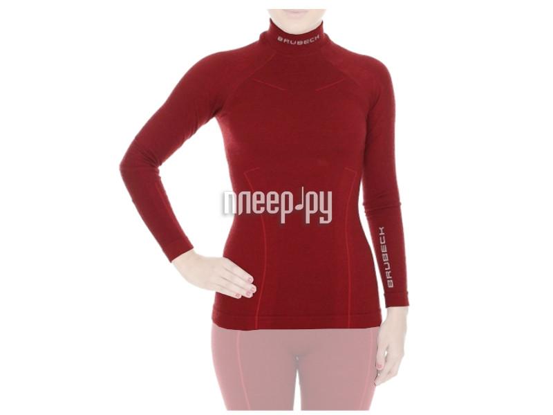 Рубашка Brubeck Wool Merino XL Bordo LS10500 / LS11930