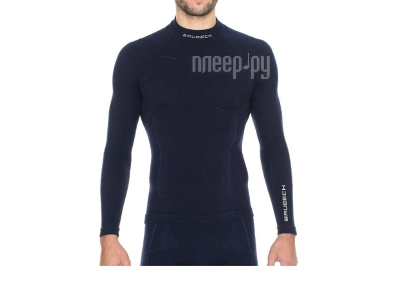 Рубашка Brubeck Wool Merino L Dark Blue LS10510 / LS11920 мужская