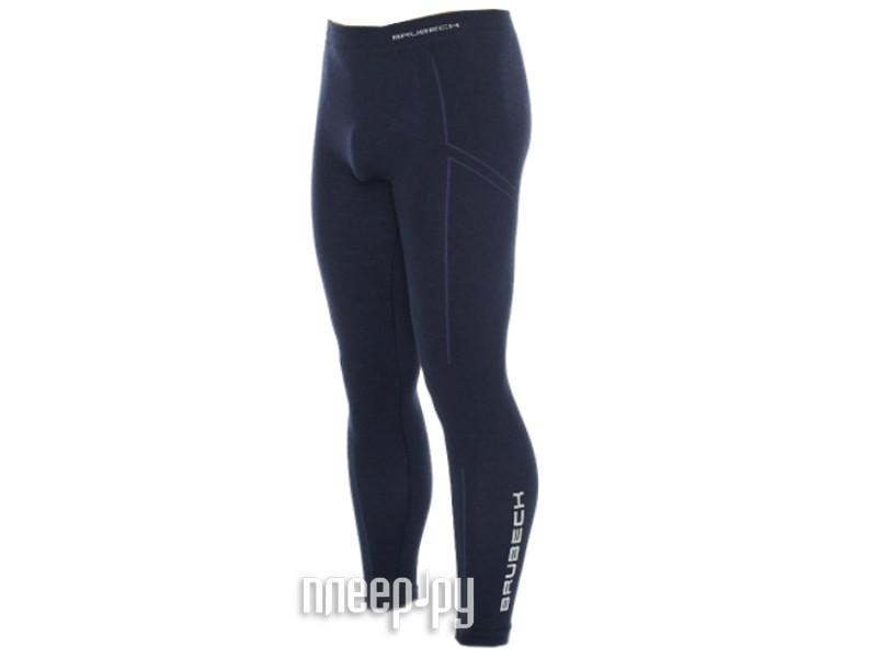 Кальсоны Brubeck Wool Merino XL Dark Blue LE10310 / LE11120 мужские