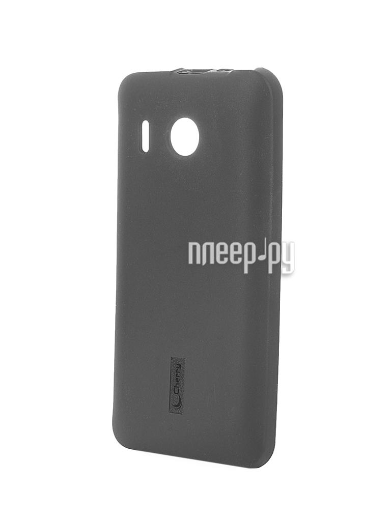 Аксессуар Чехол-накладка Huawei Ascend Y320 Cherry Black 8295