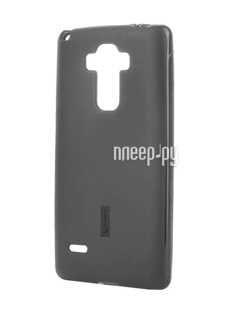 Аксессуар Чехол-накладка LG G4 Stylus H540F Cherry Black 8307