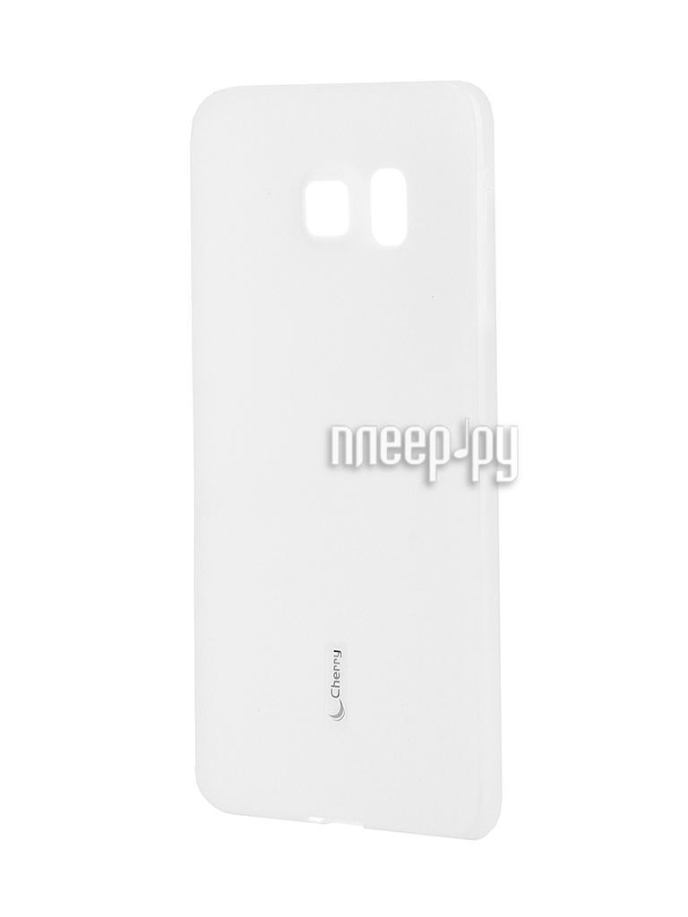 Аксессуар Чехол-накладка Samsung SM-G928 Galaxy S6 Edge+ Cherry White 8308
