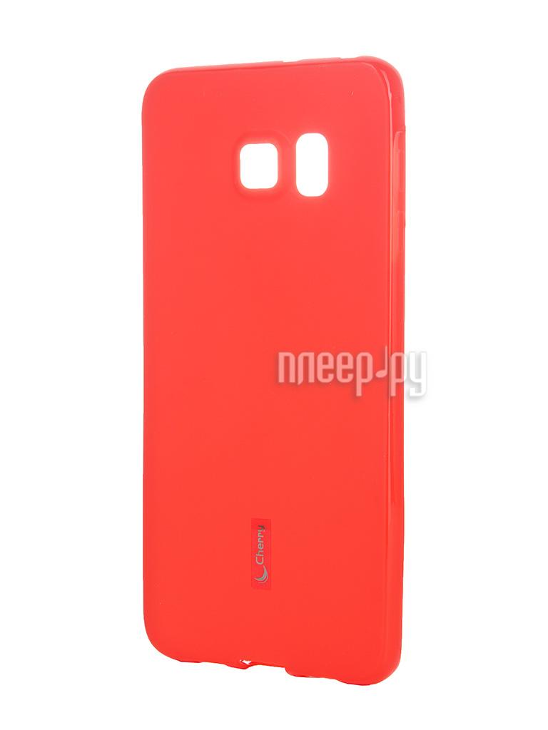 Аксессуар Чехол-накладка Samsung SM-G928 Galaxy S6 Edge+ Cherry Red 8309