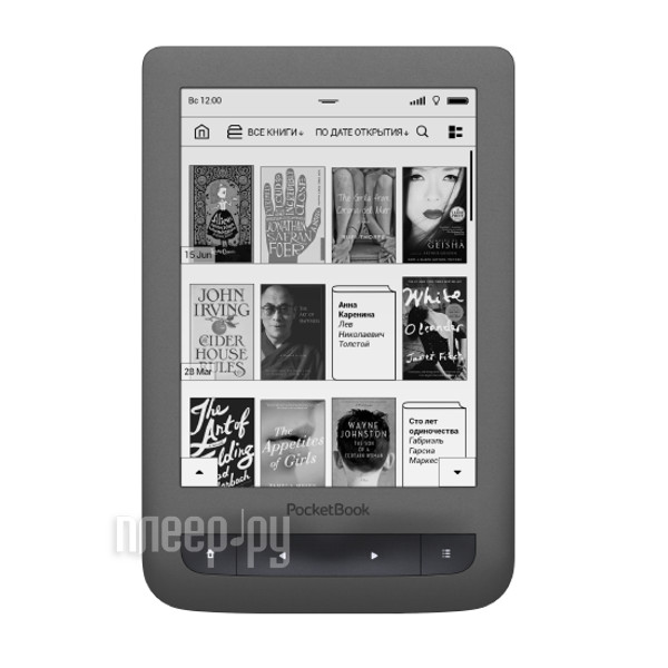 Электронная книга PocketBook 626 Plus Grey PB626(2)-Y-RU