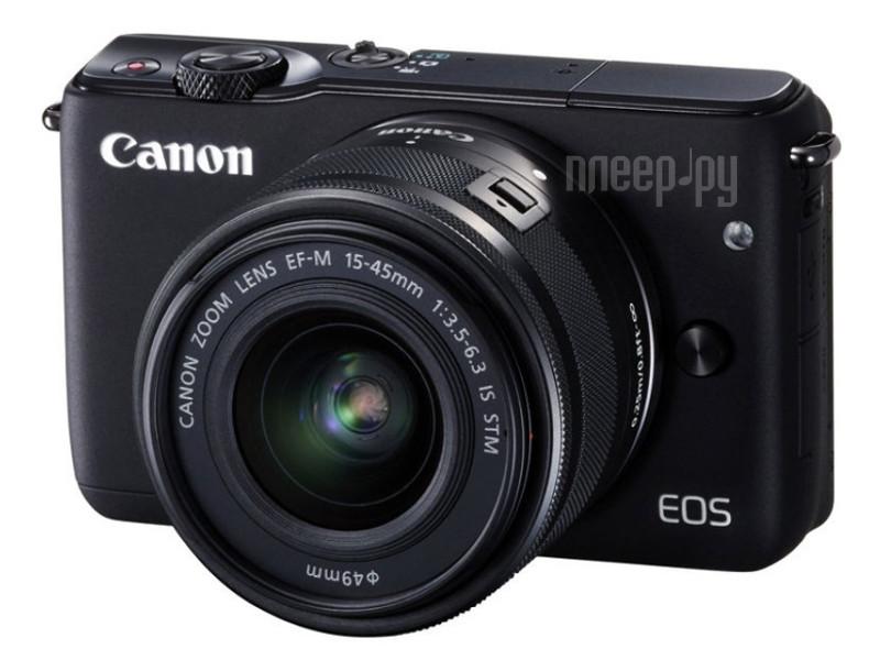 Фотоаппарат Canon EOS M10 Kit 15-45 IS STM Black*