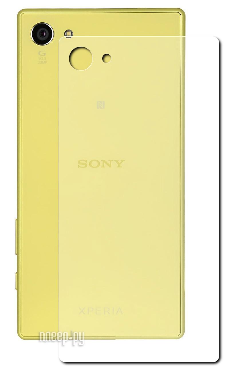 Аксессуар Защитное стекло Sony Xperia Z5 Compact Red Line Tempered Glass задняя