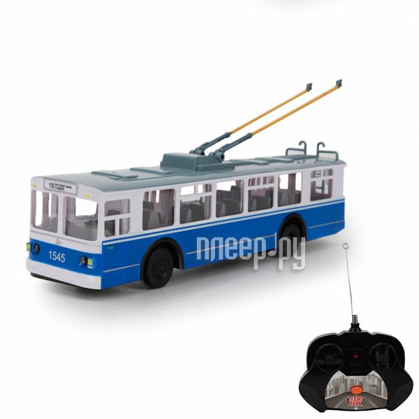 Радиоуправляемая игрушка Технопарк Троллейбус TROL-RC
