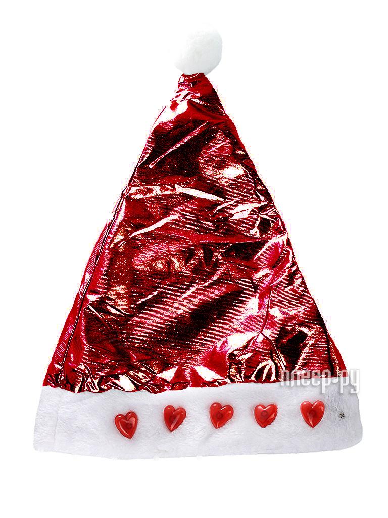 Новогодний сувенир Snowmen Шапка Снегурочки Е50846 Red