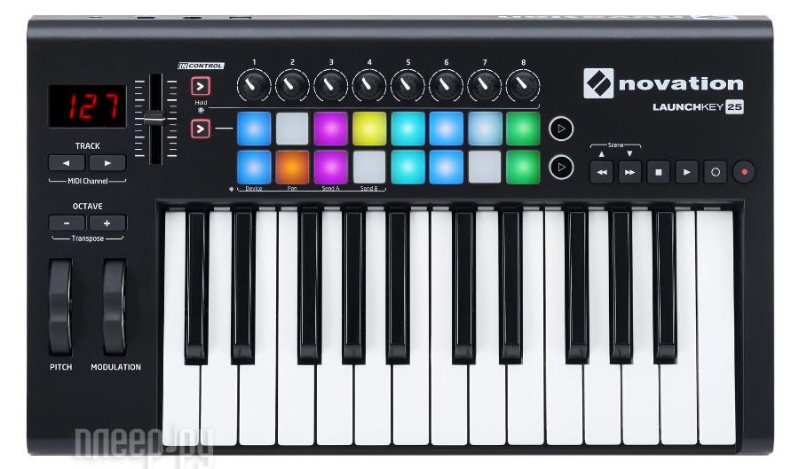 MIDI-клавиатура Novation LaunchKey 25 MK2