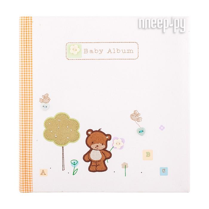 Фотоальбом Innova Bookbound Natural Baby Memo медвежонок 10x15/144 Q191283
