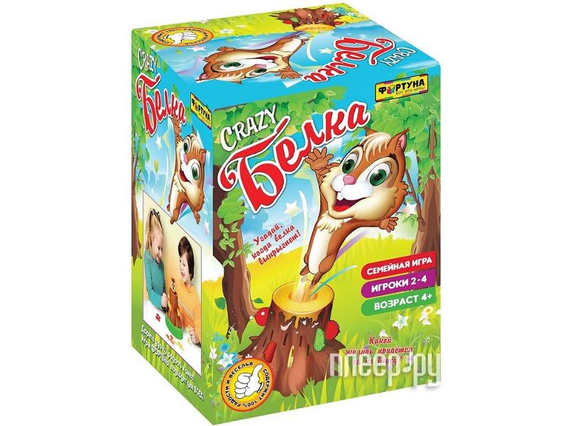 Настольная игра Фортуна Crazy Белка Ф70000