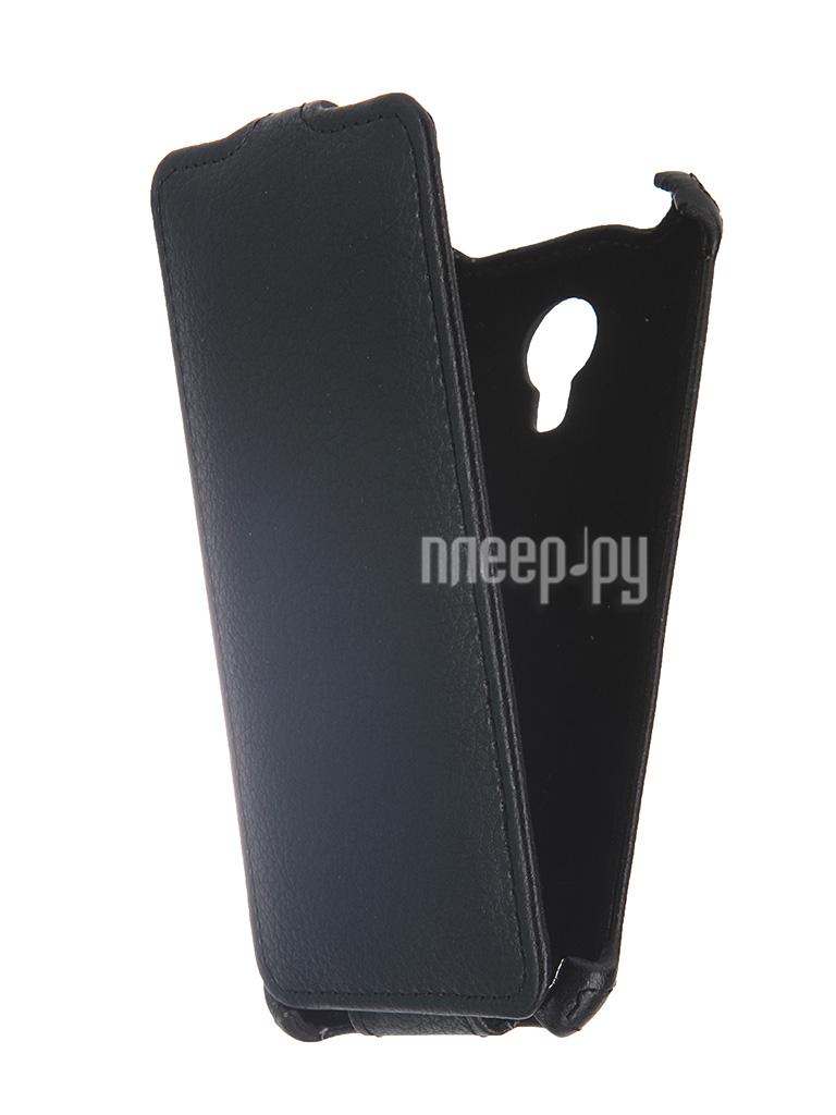 Аксессуар Чехол-флип Micromax Q380 Canvas Spark Gecko Black GG-F-MICQ380-BL