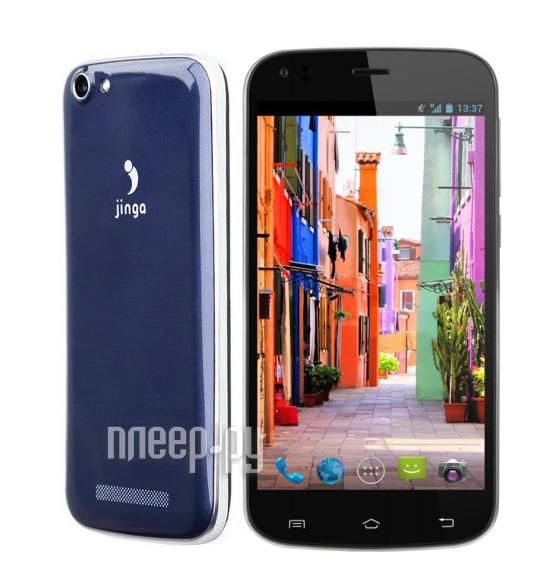 Сотовый телефон Jinga Basco L3 Blue