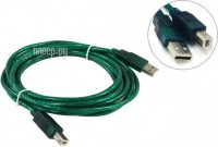 Аксессуар AOpen USB 2.0 AM-BM 3m Green ACU201-3MTG