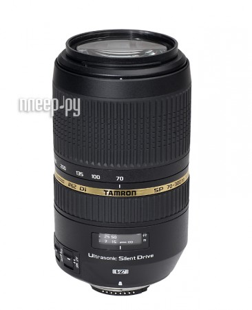 Объектив Tamron Nikon AF 70-300mm F/4-5.6 SP Di VC USD