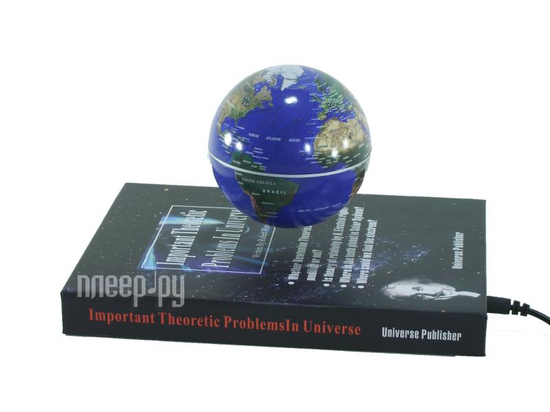 Глобус СмеХторг Глобус электромагнитный парящий над книжкой