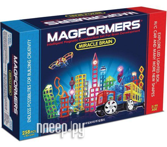 Конструктор Magformers Miracle Brain Set 63093 за 32278 рублей