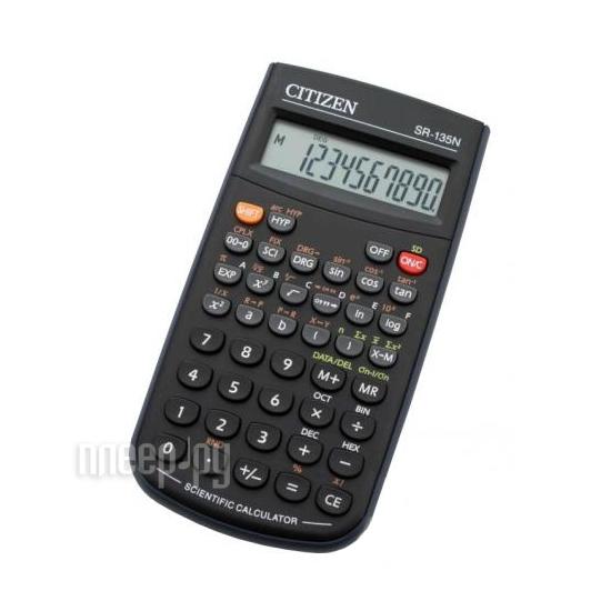 Калькулятор Citizen SR-135NCFS 250300