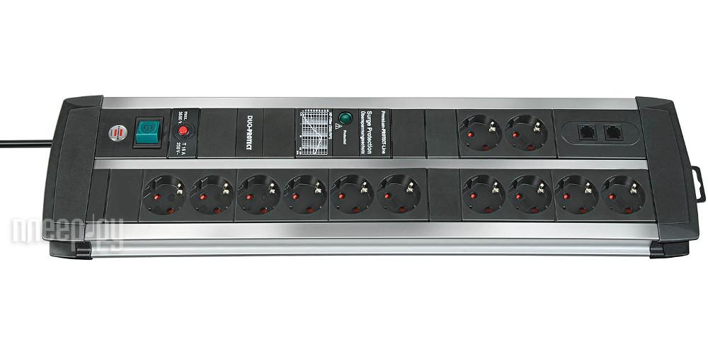 Сетевой фильтр Brennenstuhl Premium-Protect-Line 12 Sockets 3m 1392000122