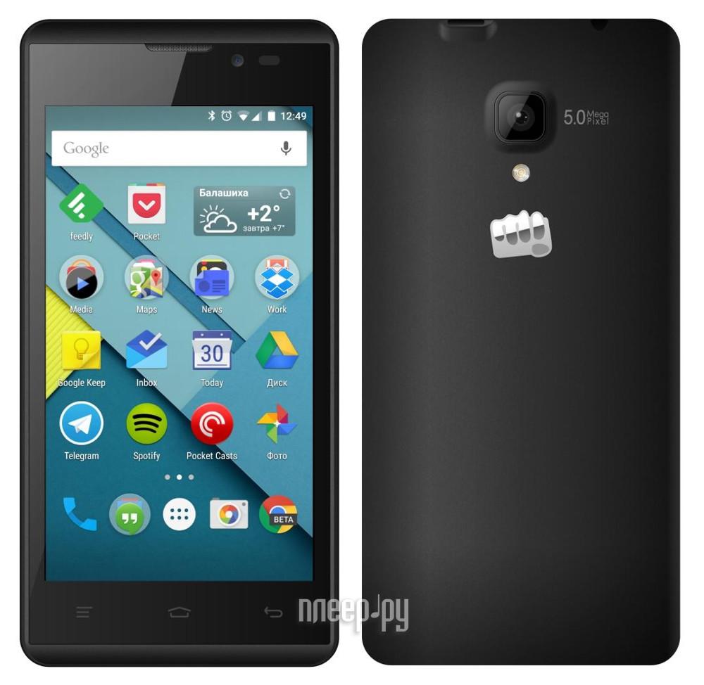 Сотовый телефон Micromax D333 Black