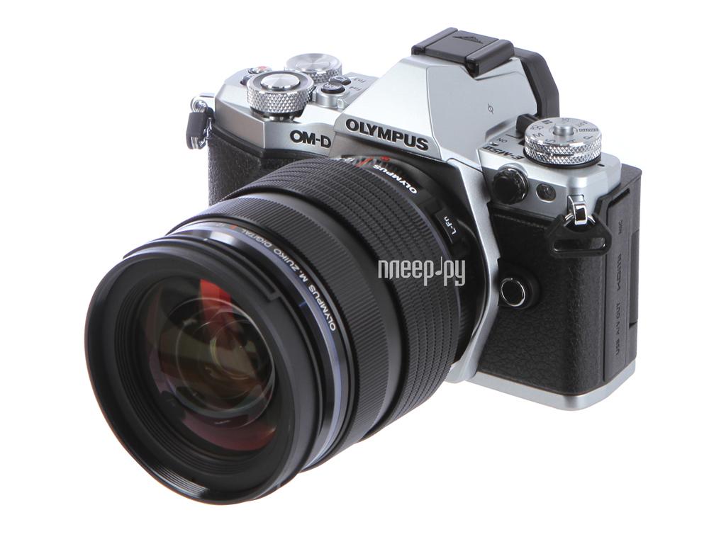 Фотоаппарат Olympus OM-D E-M5 Mark II Kit 12-40 mm F / 2.8 Silver-Black