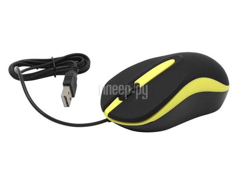 Мышь SmartBuy SBM-329-KY Black-Yellow USB