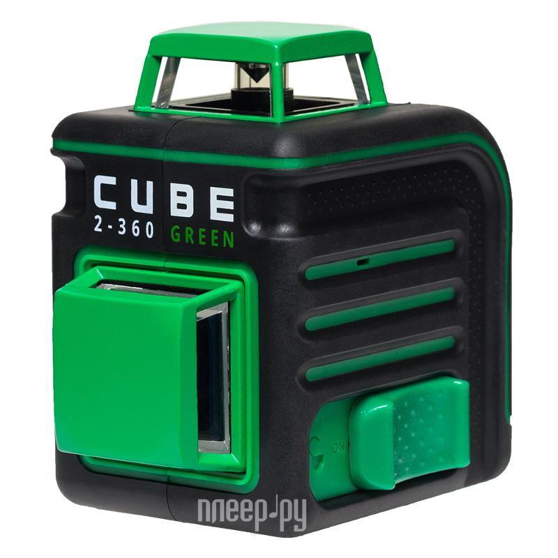 Нивелир ADA CUBE 2-360 Green Ultimate Edition А00471
