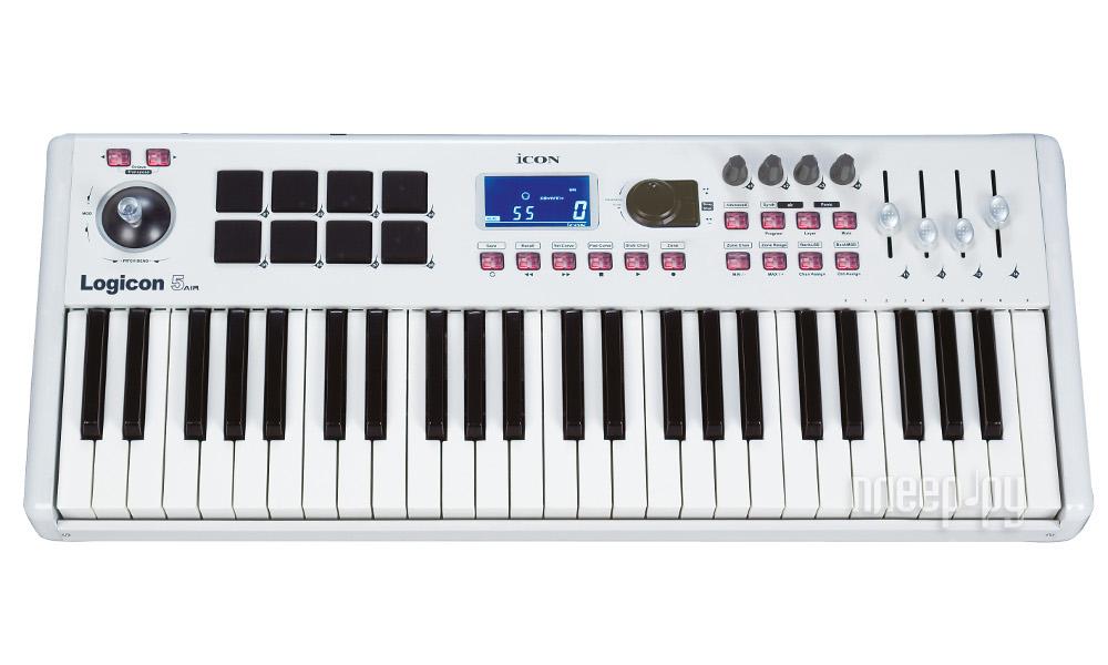 MIDI-клавиатура ICON Logicon 5 air