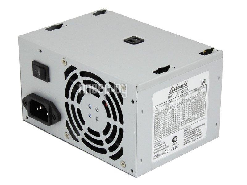 Блок питания LinkWorld ATX 350W LW2-350W