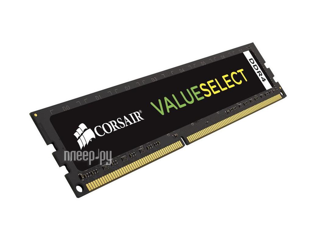 Модуль памяти Corsair ValueSelect DDR4 DIMM 2133MHz PC4-17000 CL15 - 16Gb CMV16GX4M1A2133C15