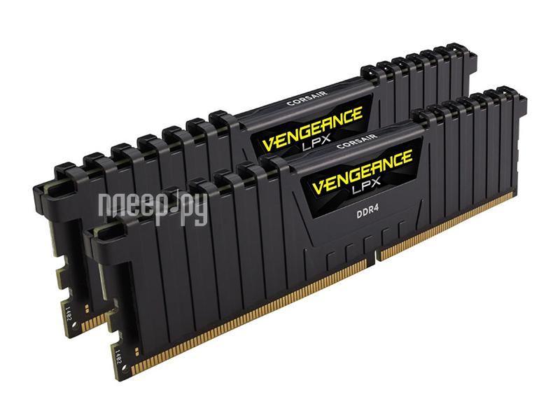 Модуль памяти Corsair Vengeance LPX DDR4 DIMM 2133MHz PC4-17000 CL13 - 16Gb KIT (2x8Gb) CMK16GX4M2A2133C13