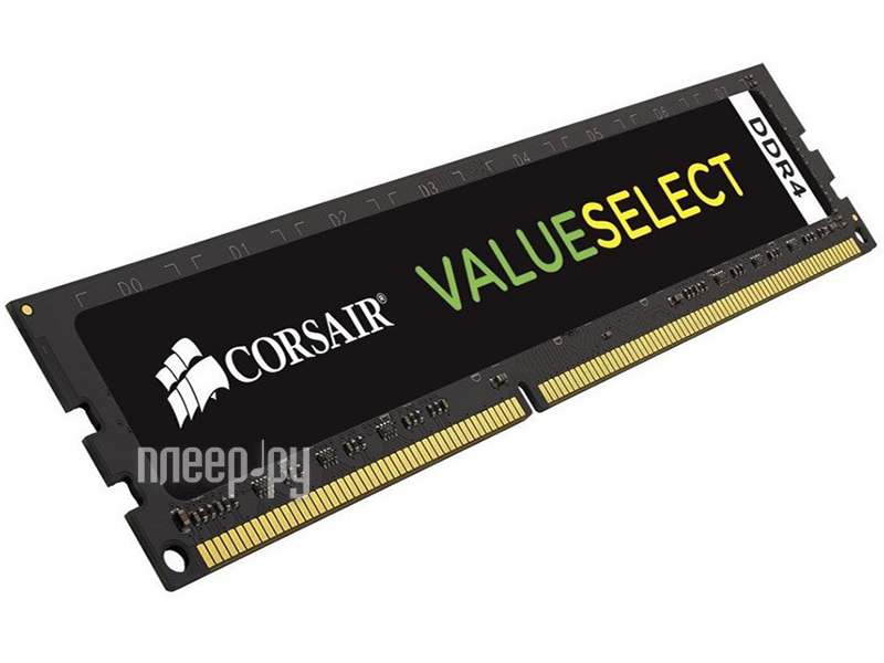 Модуль памяти Corsair ValueSelect DDR4 DIMM 2133MHz PC4-17000 CL15 - 8Gb CMV8GX4M1A2133C15