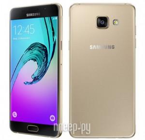 Купить Сотовый телефон Samsung SM-A510F/DS Galaxy A5 (2016) Gold