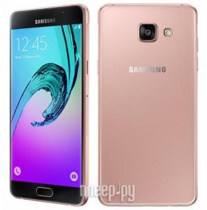 Купить Сотовый телефон Samsung SM-A510F/DS Galaxy A5 (2016) Pink Gold