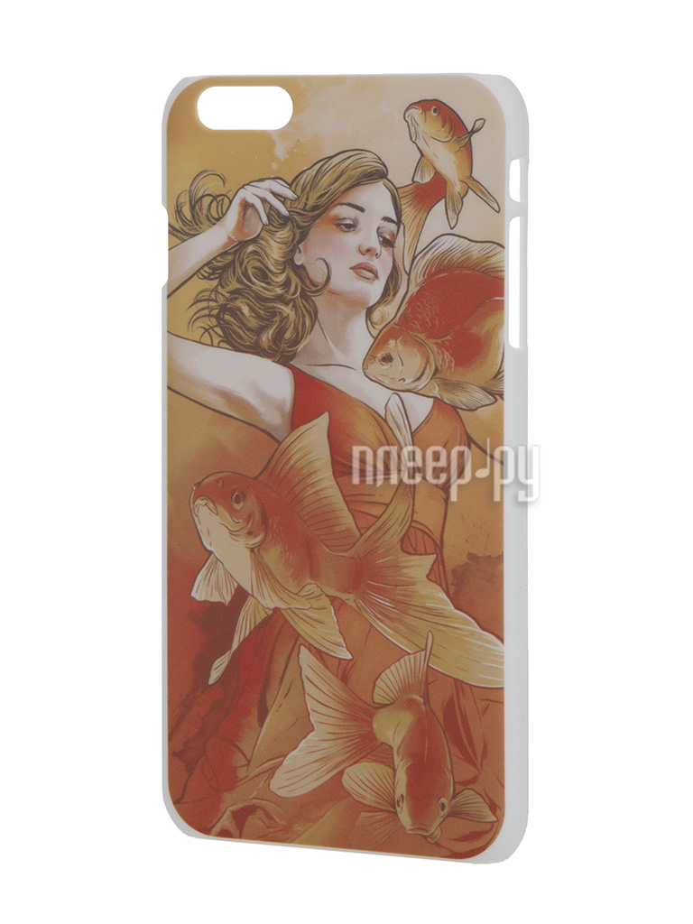 Аксессуар Чехол iPapai для iPhone 6 Plus Женственность Золотая рыбка