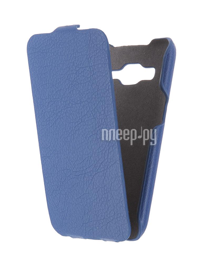 Аксессуар Чехол Samsung G360 / G361 Galaxy Core Prime iBox Premium Blue
